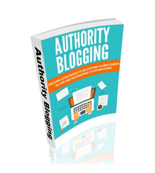 Authority Blogging eBook