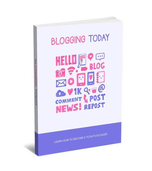 Blogging Today eBook