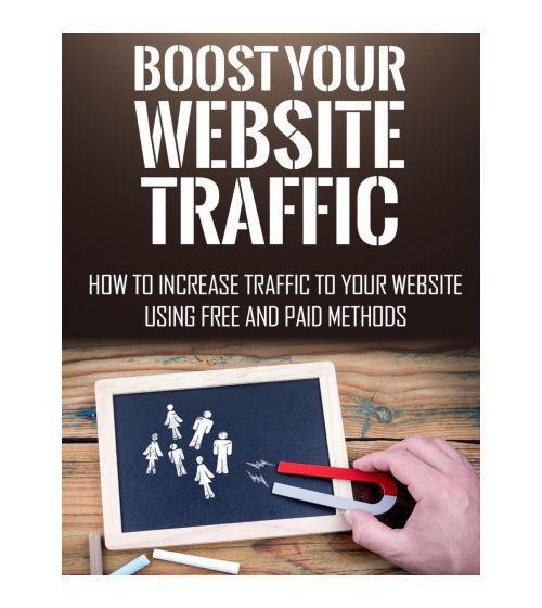 Books Your Website Traffic eBook