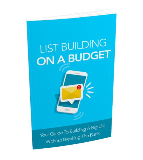List Building on a Budget