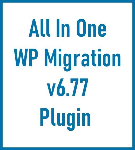 AIO WP Migration v6-77